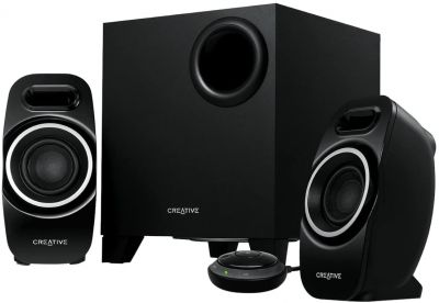 Creative T3250 Compact 2.1 Ch Bluetooth Wireless & Wired Speaker